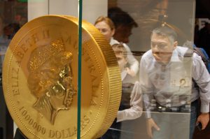 The Berlin coin fair is the world´s largest event of the coin industry
