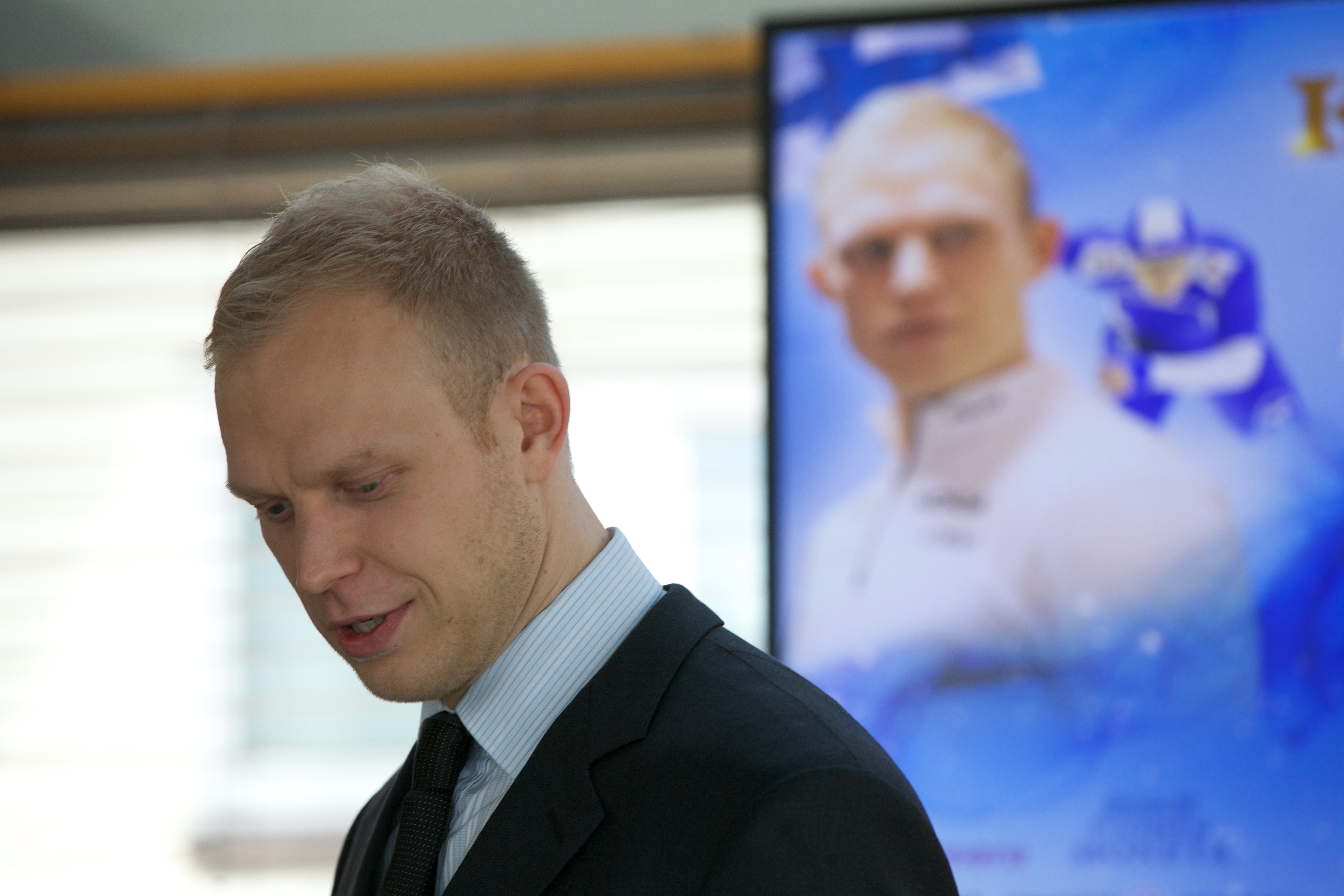 And former world record holder in speed skating, Pekka Koskela