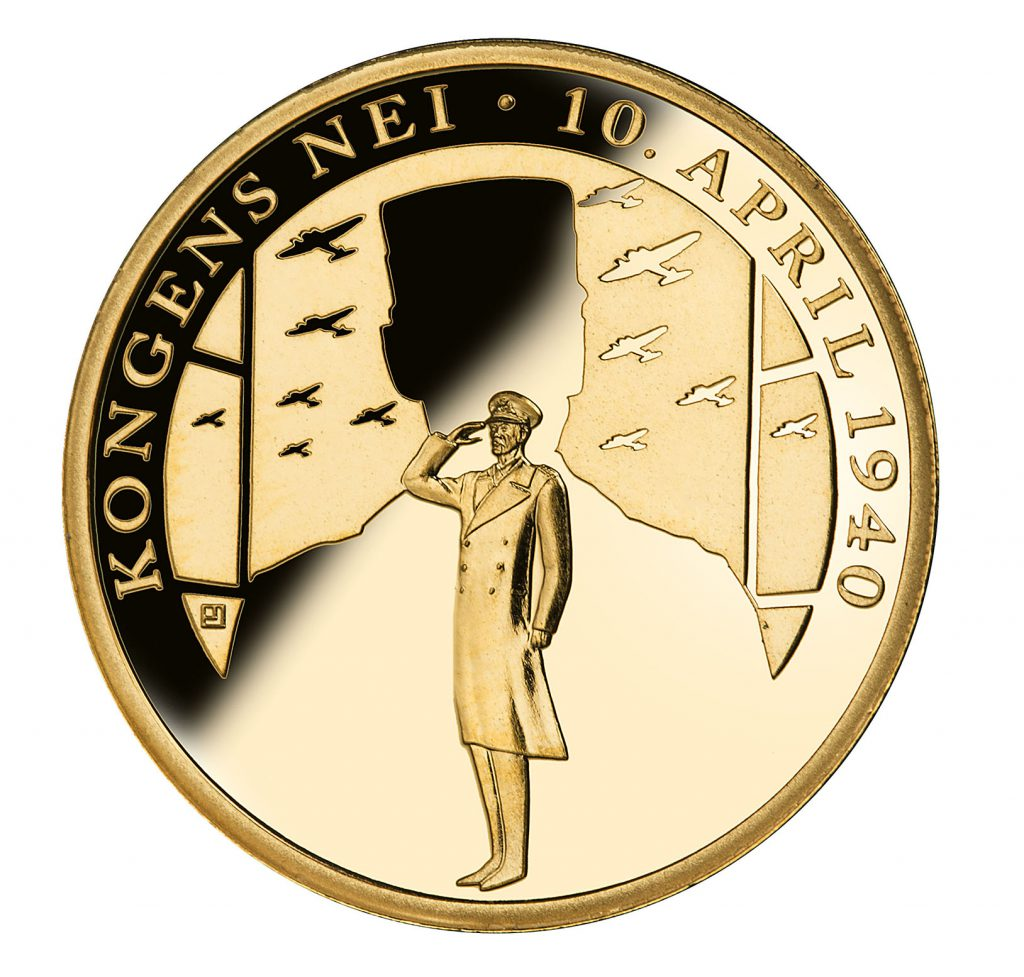 The world´s first commemorative medal in Fairmined Gold