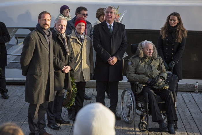 Samlerhuset and Crown Prince Haakon celebrate Norwegian war heroes