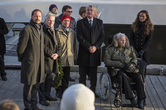 Samlerhuset and Crown Prince Haakon celebrate Norwegian war heroes