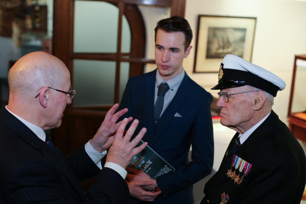 Merchant navy seamen´s role in Battle of Atlantic honored on HQS Wellington