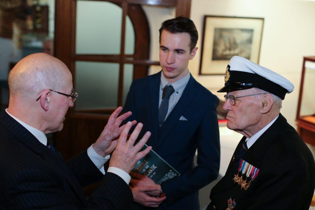 Merchant navy seamen´s role in Battle of Atlantic honored on HQS Wellington
