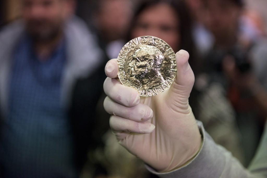 Nobel Peace Prize made out of Fairmined gold