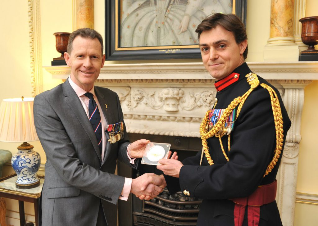 Battle of Britain medal presented at 10 Downing Street