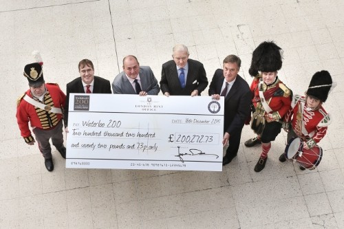 Battle of Waterloo Medals Raise £200,000 Pounds for Waterloo 200 Charity