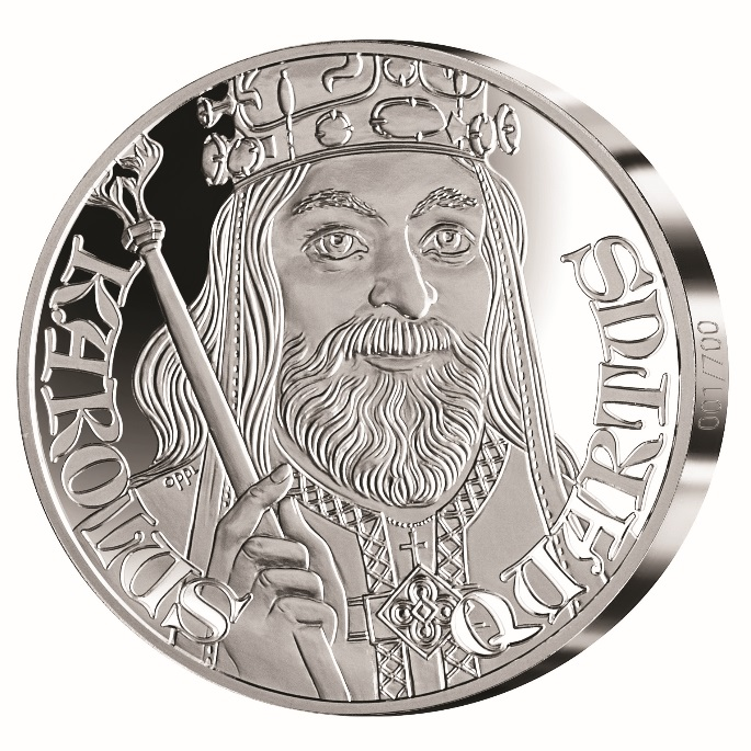 Samlerhuset issues silver medals to mark the 700th anniversary of the birth of Charles IV